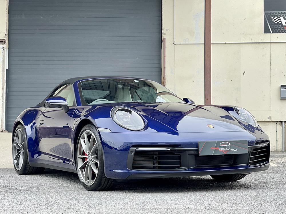 Film protection carrosserie et céramique sur Porsche 992 Cabriolet 4S
