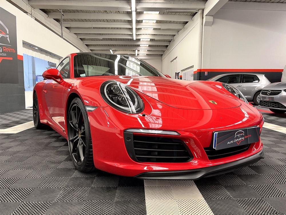 Film protection carrosserie sur Porsche 911 Carrera S
