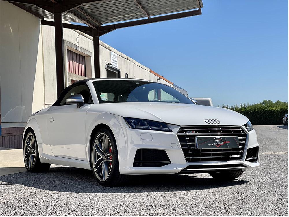 Detailing, film protection carrosserie et traitement céramique voiture sur Audi TT S