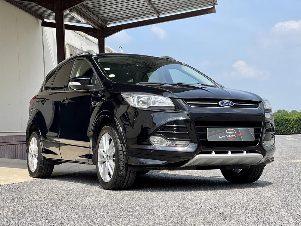 Rénovation carrosserie par vernissage Restor FX sur Ford Kuga