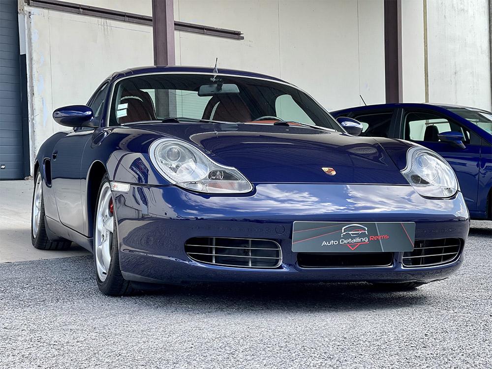 Restauration voiture par RestorFX sur Porsche Boxster S